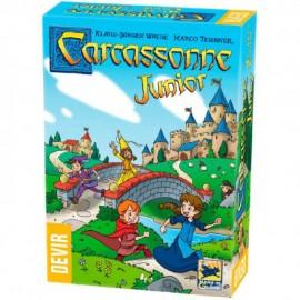 Juego Carcassonne Junior Trilingue
