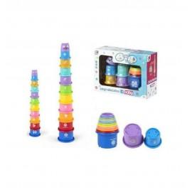 Set Torre Cubos de Colores