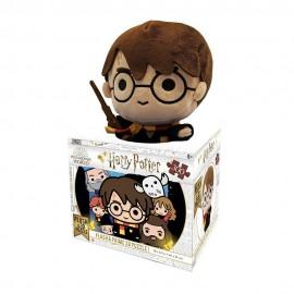 Harry Potter, Puzzle Lenticular con Peluche de 300 Piezas