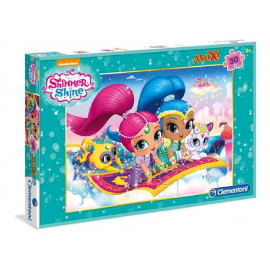 PUZZLE MAXI 30 PIÈCES SHIMMER & SHINE