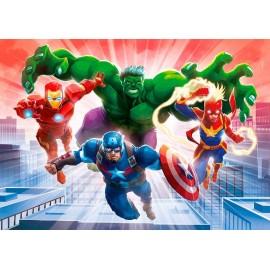 Avengers, Puzzle 104 Piezas, Glowing