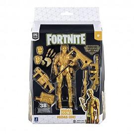 Fornite, Figura Legendary Midas Gold de 15 cms