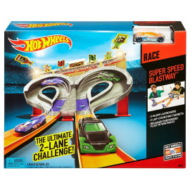 HOT WHEELS - PISTA SUPER SPEED BLUST