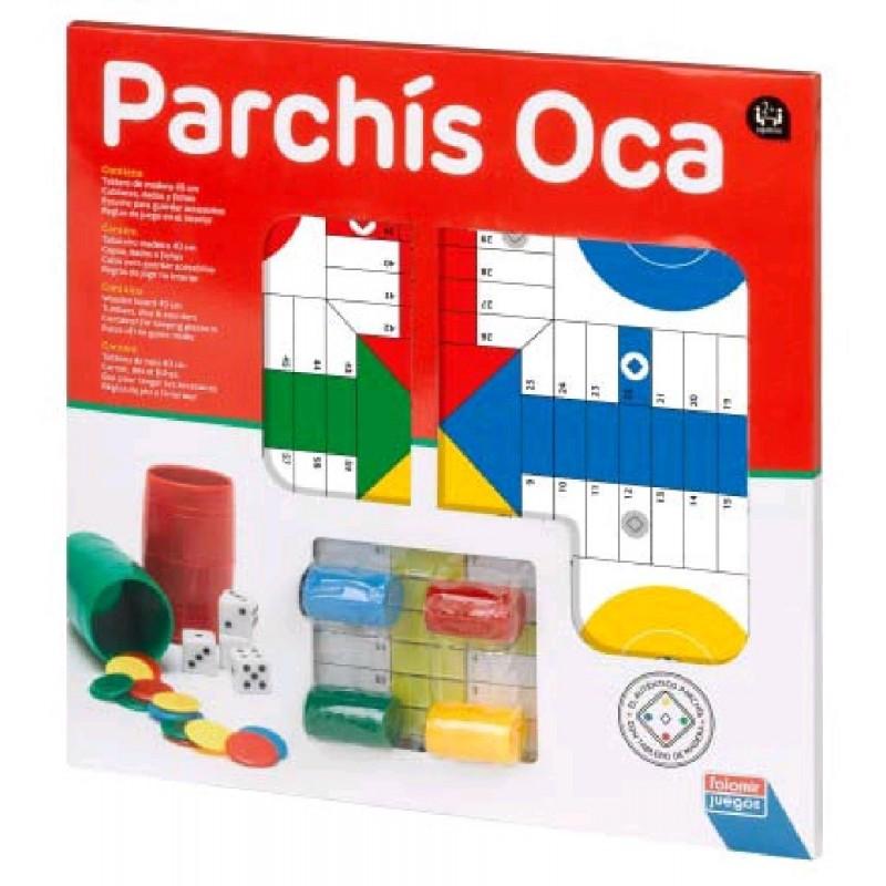 PARCHIS OCA CON ACCESORIOS 40 CMS.