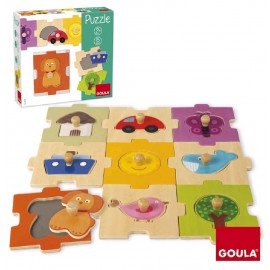 PUZZLE INTERCAMBIABLE 18 PZAS.