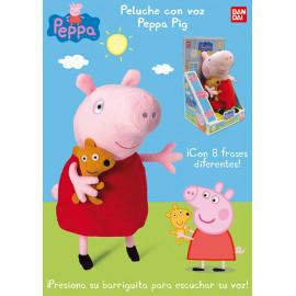 Peppa Pig, Peluche Con Voz