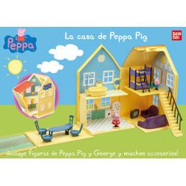 Peppa Pig, La Casa