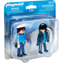 DUO PACK POLICIA Y LADRON