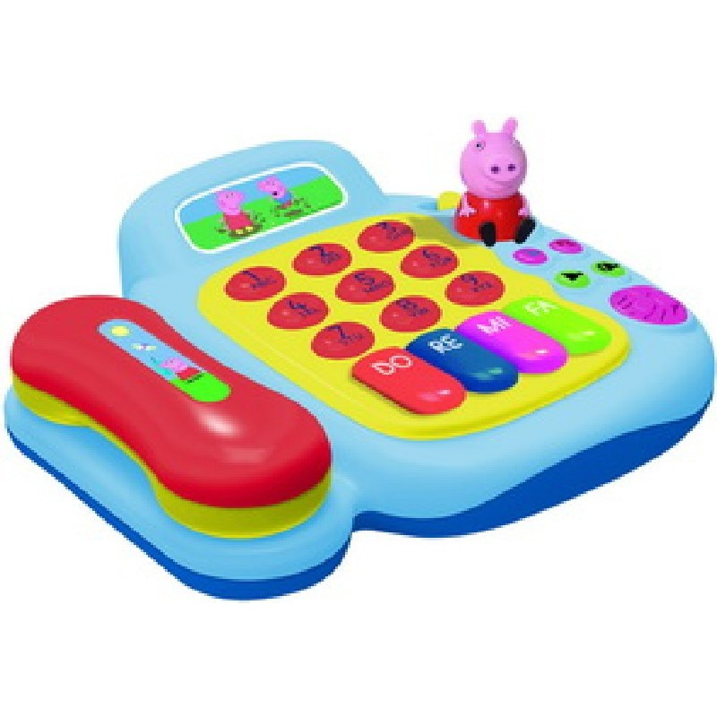 ACTIVITY TELEFONO Y PAINO PEPPA PIG
