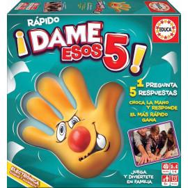 JUEGO RAPIDO DAME ESOS 5