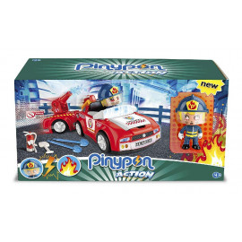 PINYPON ACTION - BOMBERO VEHICULO DE ACCION