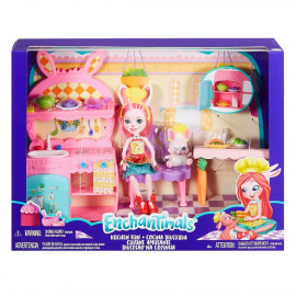 ENCHANTIMALS - COCINA DIVERTIDA