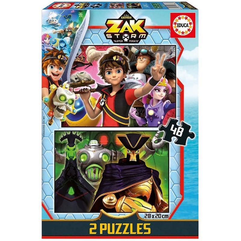 ZAK STORM - PUZLE 2X48