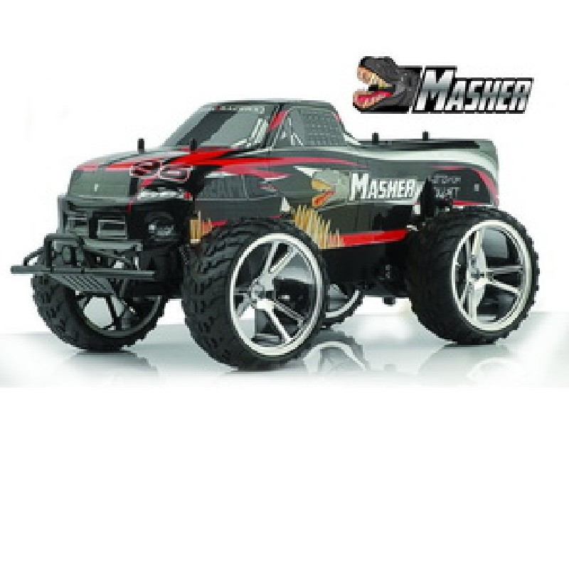 COCHE R/C. MONSTER MASHER 2 WD 1:10 BAT. Y CARG.
