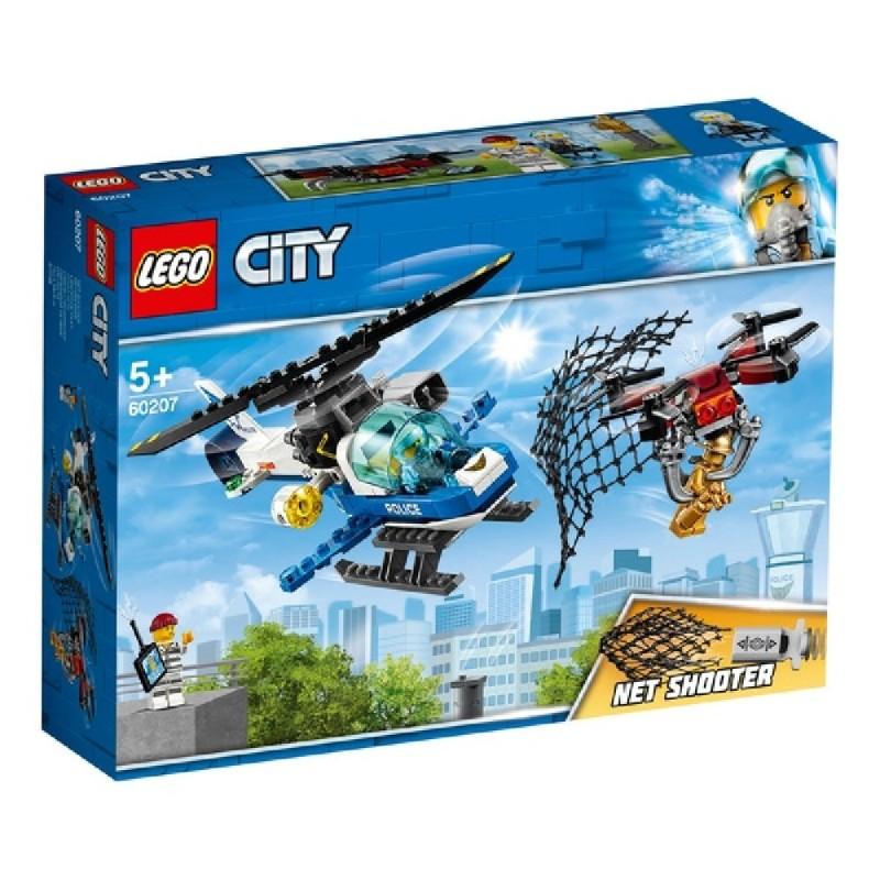 LEGO CITY POLICIA AEREA A LA CAZA DEL DRON