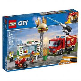 LEGO CITY RESCATE DEL INCENDIO EN LA HAMBURGUESERI
