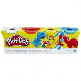 Play Doh, pack de 4 Botes