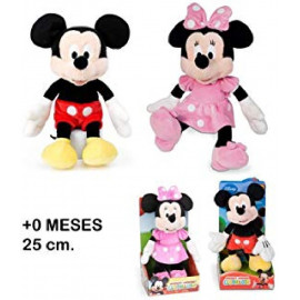 MICKEY & MINNIE 25 CMS.
