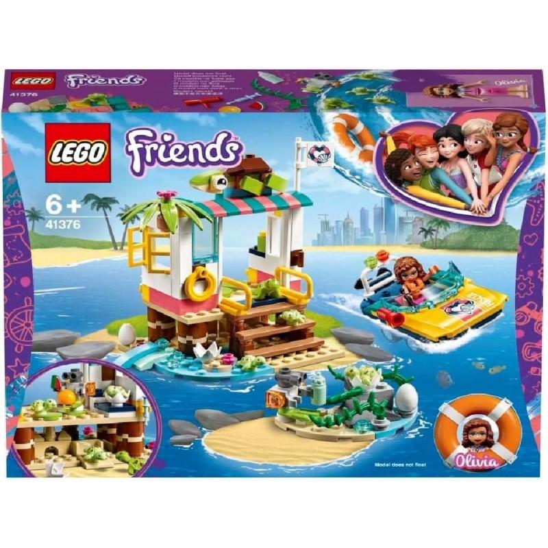LEGO FRIENDS MISION DE RESCATE TORTUGAS