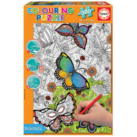 PUZZLE 300 ALL GOOD THINGS COLOURING