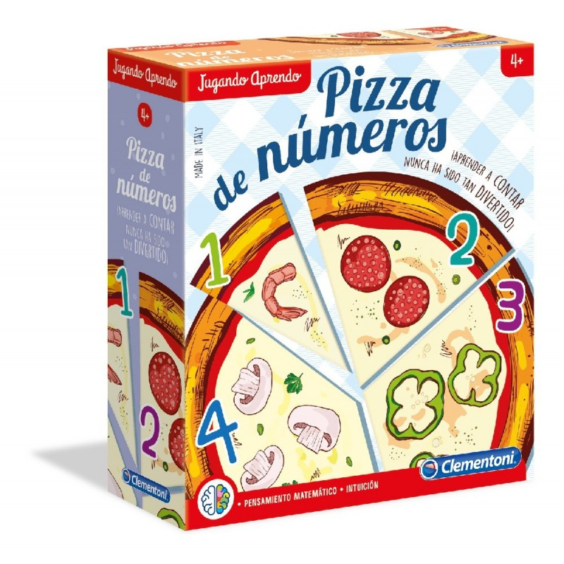 PIZZA DE NUMEROS