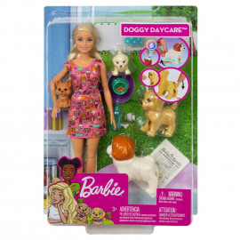 BARBIE  Y SU GUARDERIA DE PERRITOS