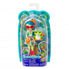 Muñeca Enchantimal, Tamika Tree y Frog