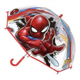 SPIDERMAN - PARAGUAS MANUAL BURBUJA 45 CMS.
