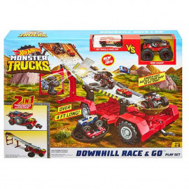 MONSTER TRUCK - TRANSFORMING 2X1 MOBILE DOWNHILL