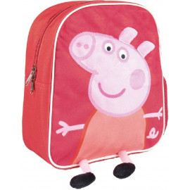 PEPPA PIG - MOCHILA PERSONAJES 28 CMS.