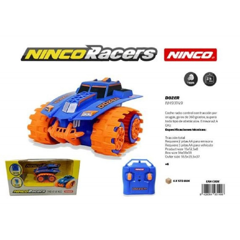 NINCORACERS DOZER R/C. A PILAS ORUGA