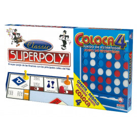 Juego Superpoly + Coloca 4