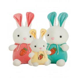 Conejo Extrasuave, 3 Colores Surtidos de 40 Cms.