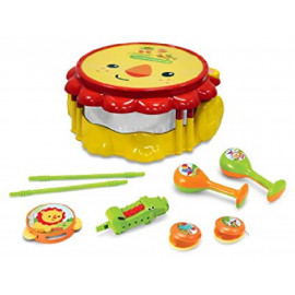 FISHER PRICE - LION MUSICAL BAND DRUMSET