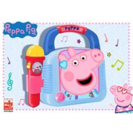 PEPPA PIG - REPRODUCTOR MP3 CON MICRO Y BLUETOOTH