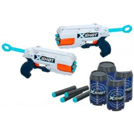 X-SHOT EXCEL - PACK 2 PISTOLAS REFLEX 6+6 BOTES