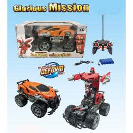 VEHICULO ROBOT TRANSFORMABLE R/C