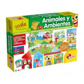 CAROTINA ANIMALES Y AMBIENTES