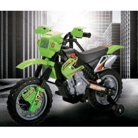 MOTO MOTOCROS BATERIA 6 V. 4 AH. VERDE