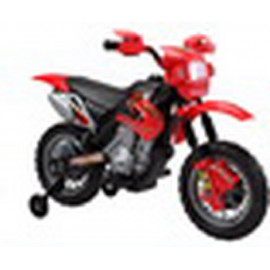 MOTO MOTOCROS BATERIA 6 V. 4 AH. ROJA