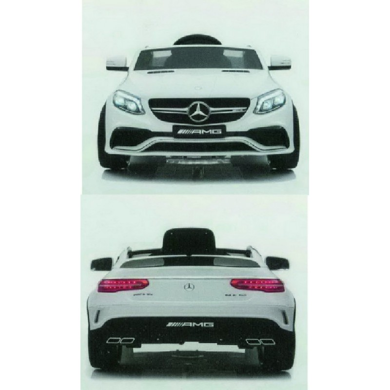 MERCEDES BENZ AMG GLE COUPE 63 - 12 V. 7 AH. BLANCO