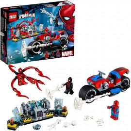 LEGO SPIDERMAN RESCATE EN MOTO