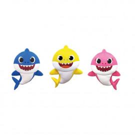 BABY SHARK PLUSH TOY 30 CMS. MALEREI UND WASCHEN