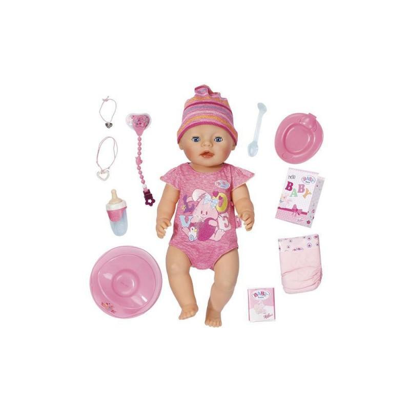 Baby Born, Muñeca Interactiva Niña