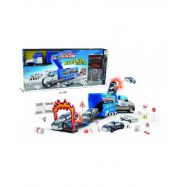 Camión Azul, con Vehiculos y Accesorios