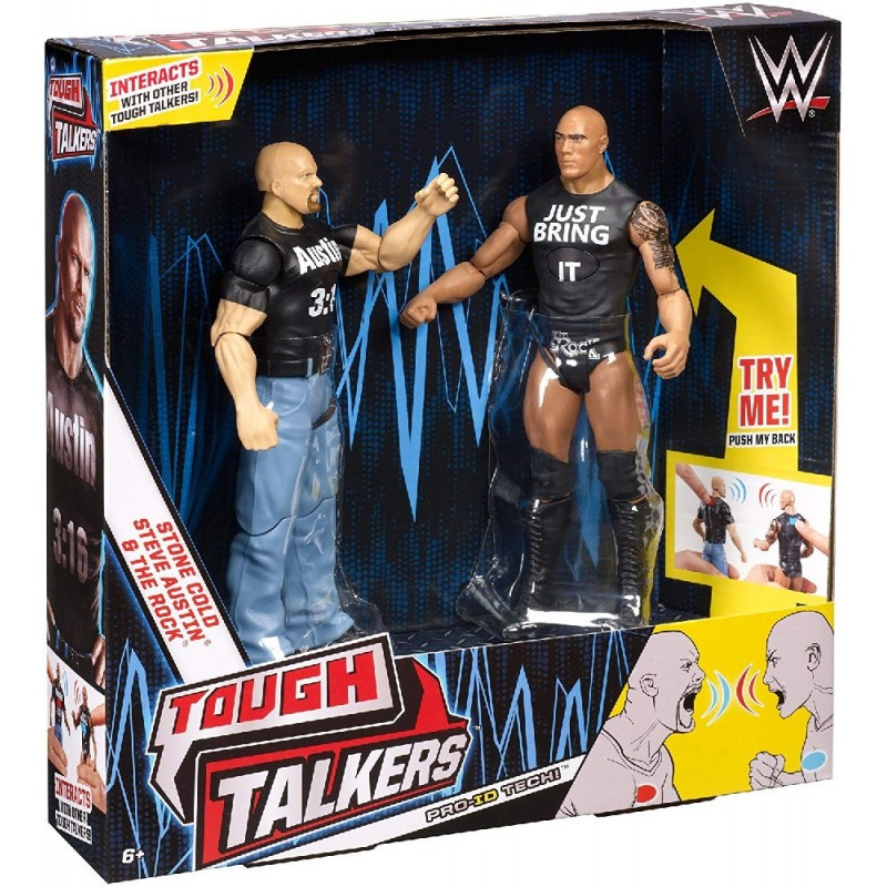 PACK 2 FIGURAS TOUGH TALKERS