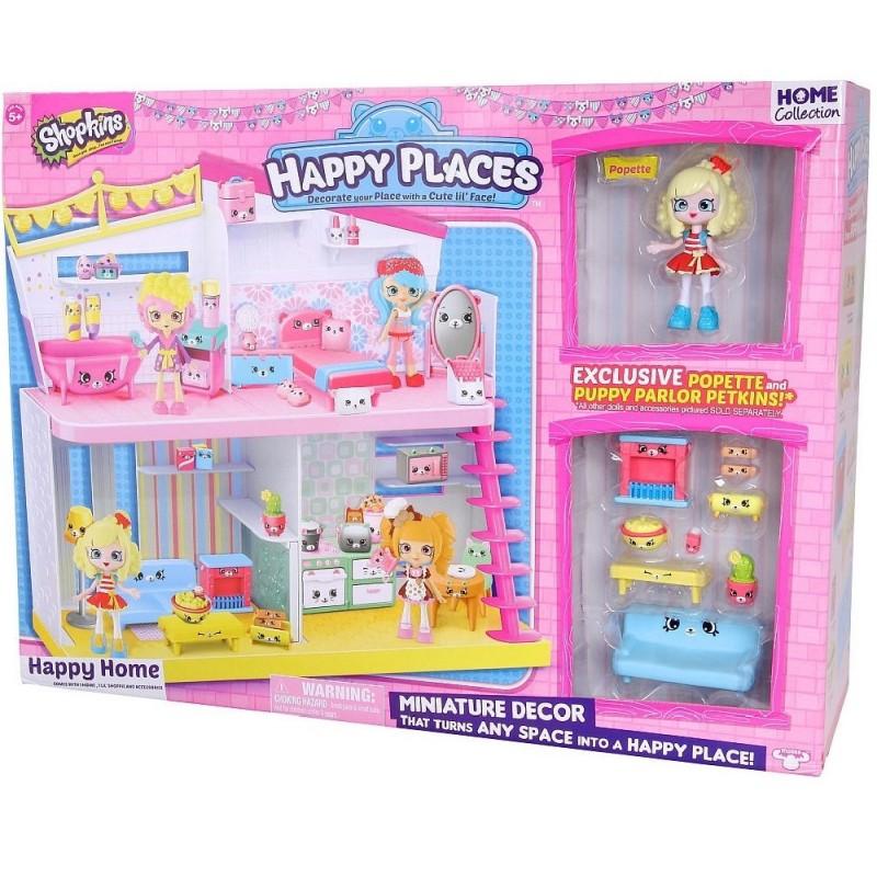 HAPPY PLACES - HAPPY HOME + 1 FIGURA