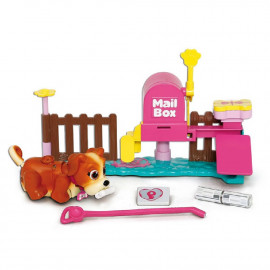 PET PARADE - MAILBOX PLAYSET + 1 CACHORRO