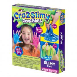 Craz-Slimy, Crea tu Propio Slime Glitter Neon