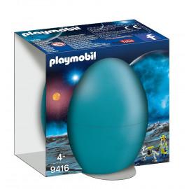 Agente Espacial con Robot de Playmobil
